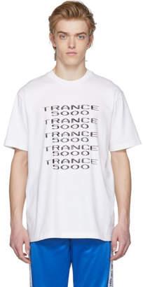 Misbhv White Trance 5000 T-Shirt