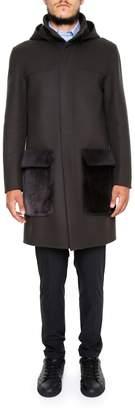 Fendi Double Wool Coat