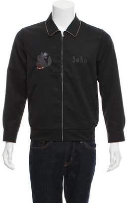 Undercover John Wool Zip-Front Jacket