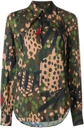 Vivienne Westwood Pianist camouflage shirt