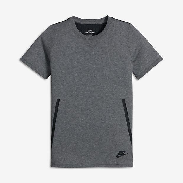 Nike Sportswear Tech Big Kids' (Boy's) T-Shirt