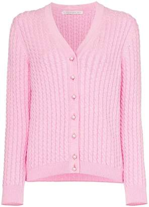 Alessandra Rich Knitted button-down cardigan