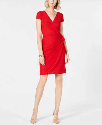 INC International Concepts I.n.c. Cap-Sleeve Wrap Dress, Created for Macy's