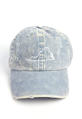 Virginia Distressed Baseball Cap