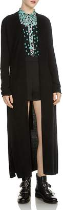 Maje Marina Long Open Cardigan