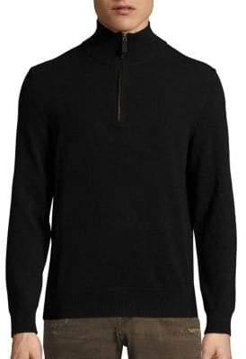 Polo Ralph Lauren Cashmere Half-Zip Pullover Sweater