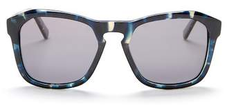 Joe's Jeans Polarized 57mm Geometric Sunglasses