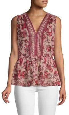 Kate Spade Paisley Blossom Top