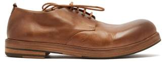 Marsèll Zucca Zeppa Leather Derby Shoes - Mens - Tan