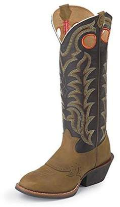 "Tony Lama Men's Quanah Navy 16"" Height (RR1002) 