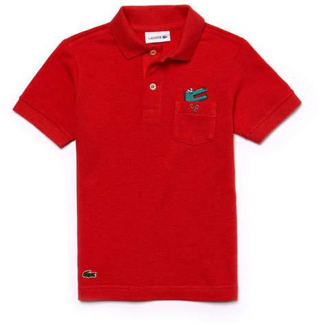 Jungen-Poloshirt aus Piqué