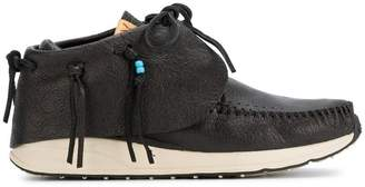 Visvim Black FBT Red Deer sneakers