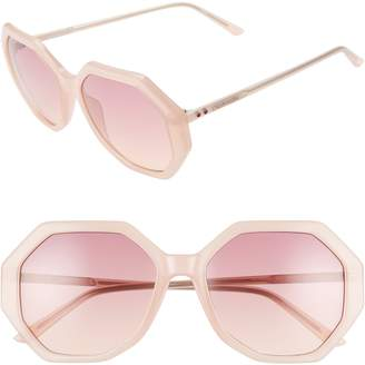 4e30018bfd Calvin Klein 55mm Geometric Sunglasses