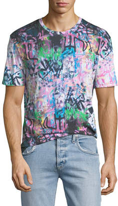 Eleven Paris Men's Prey Graffiti Graphic T-Shirt