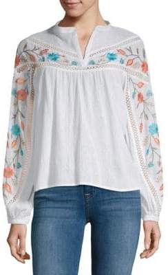 Kas Embroidered Cotton Top