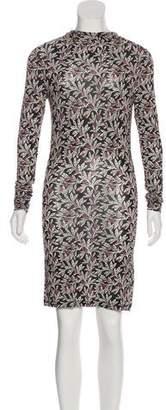 Etoile Isabel Marant Long Sleeve Mini Dress