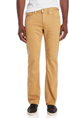 True Religion Mustard Straight Leg Jeans