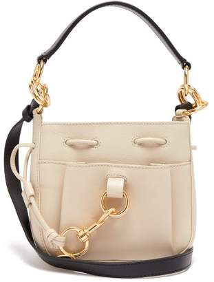 See by Chloe Tony Small Leather Bucket Bag - Womens - Beige