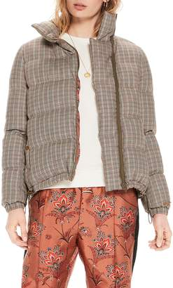 Scotch & Soda Quilted Check Jacket