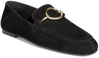 Via Spiga Women's Abby2 Nubuck Leather Loafers