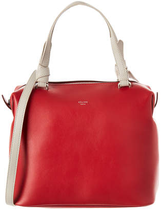 Celine Sotft Cube Smooth Calfskin Leather Small Handbag