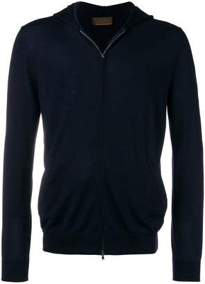 Altea hooded zip front cardigan
