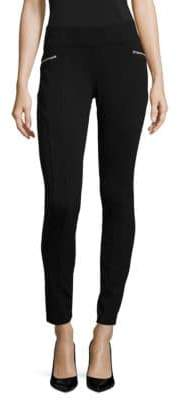 INC International Concepts Petite Skinny-Fit Ponte Pants