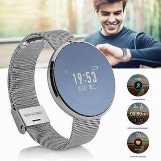 Samsung KINGSLIM Bluetooth Waterproof Smart Watch Touch Screen Phone Mate For IOS Android iPhone Silver)