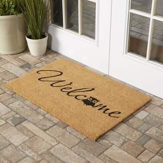 Home & More Barn Owl Welcome Doormat