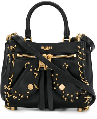 Moschino gold-toned hardware bag