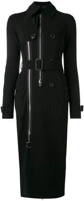 Givenchy belted slim fit trench coat
