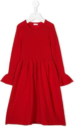Il Gufo long-sleeve knitted dress
