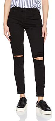 Obey Junior's Slasher Ii High Wasited Skinny Fit Pant