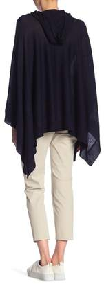 Vince Hooded Wool & Cashmere Blend Poncho
