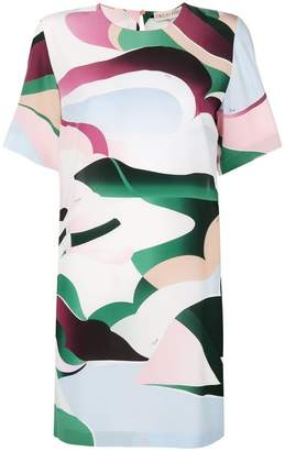 Emilio Pucci psychedelic print T-shirt dress