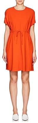Lisa Perry Women's Flyaway Crepe Drawstring Dress