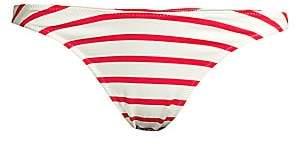 Solid and Striped Women's The Vanessa Striped Bikini Bottom