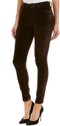 French Connection Hortensia Haze Velvet Luxe Skinny Leg