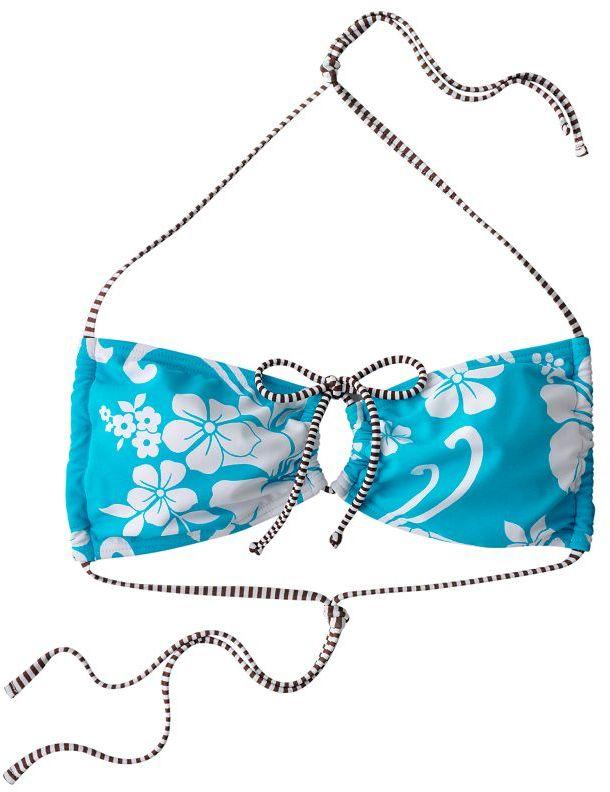 So® floral bandeau bikini top