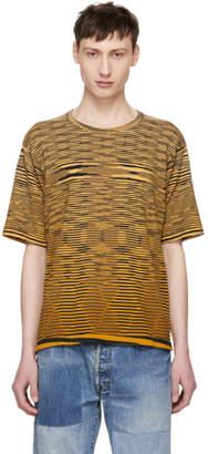Missoni Yellow Striped Effect T-Shirt