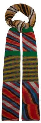 Missoni Striped Cashmere Scarf - Womens - Multi