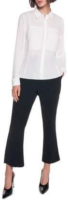 Georgette Pocket Detail Shirt