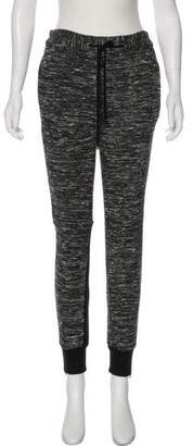 3.1 Phillip Lim Mid-Rise Zipper-Accented Joggers