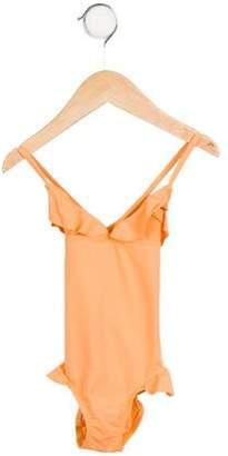 Eberjey Girls' Willa One-Piece Swimsuit w/ Tags