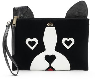 Juicy Couture French Bulldog Wristlet $39 thestylecure.com