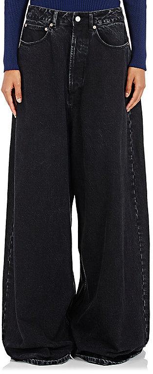 Balenciaga Balenciaga Women's Extra-Wide-Leg Jeans