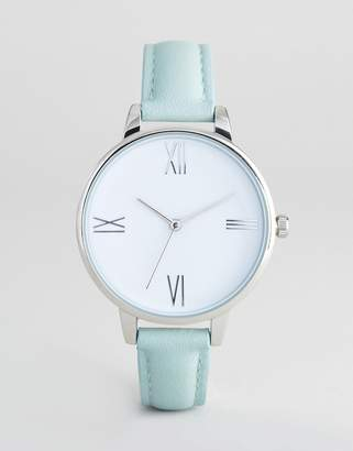 Asos DESIGN Mint Watch