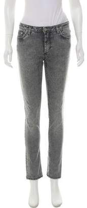 Acne Studios Skinny Mid-Rise Jeans
