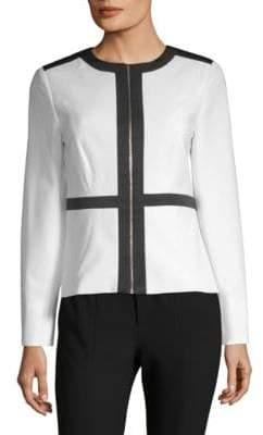 Calvin Klein Contrast Zip Jacket