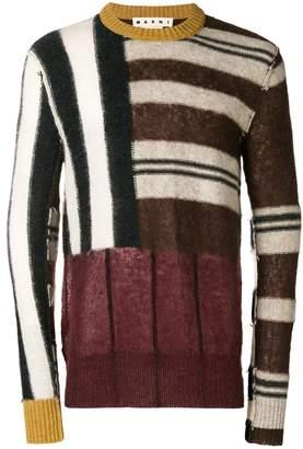 Marni striped knit sweater
